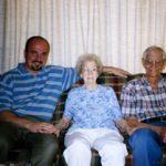 Jason with Grandma and Gramps