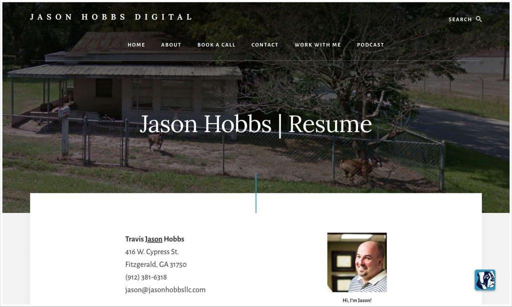 Jason Hobbs Digital - 416 W Cypress St in Fitzgerald Georgia, USA
