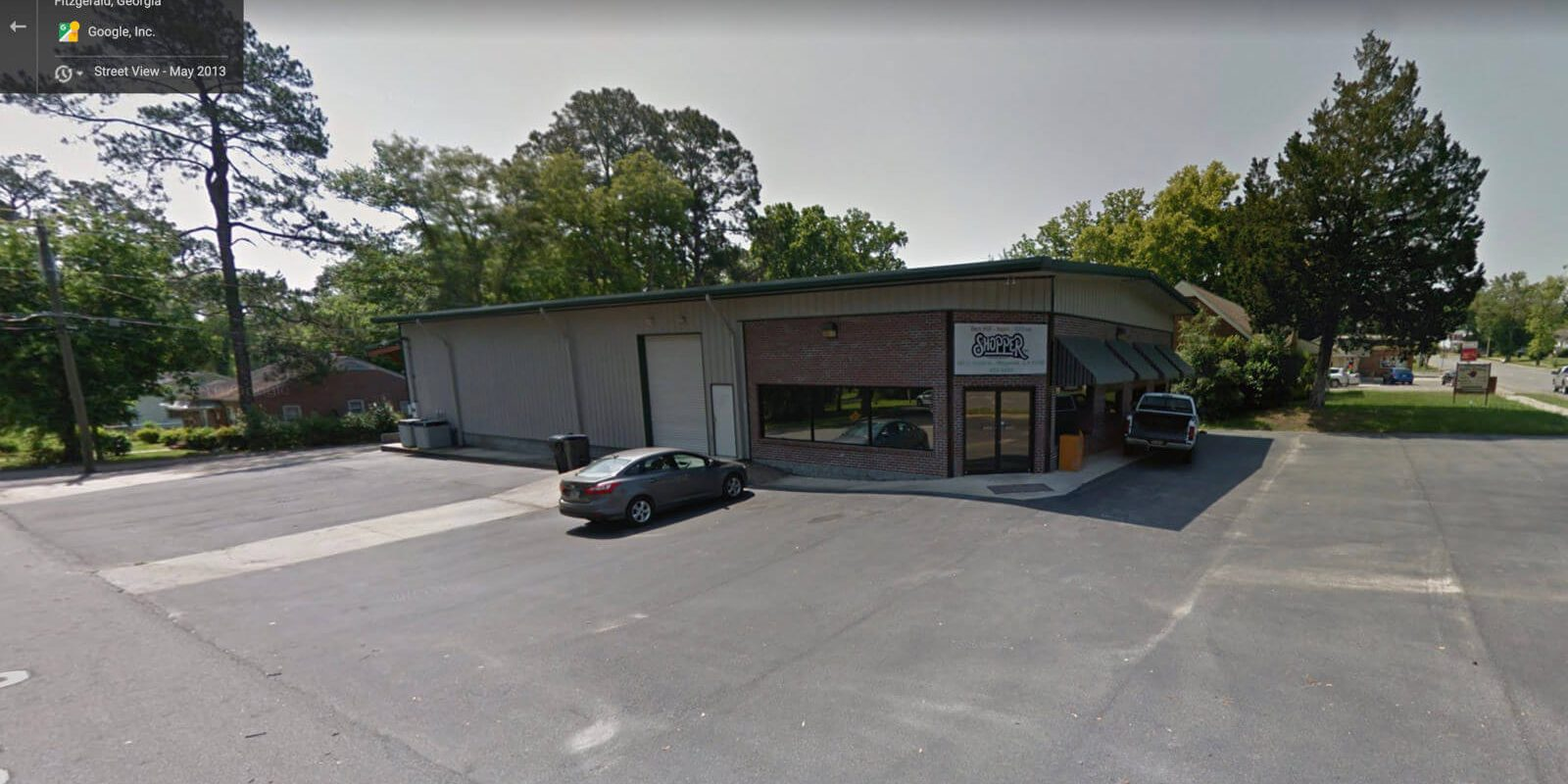 the exterior of the Georgia Shopper location in Fitzgerald, Georgia.